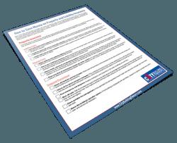 Checklist for saving money on residential insurance