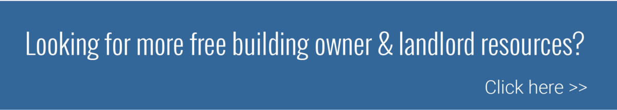 Building Owner / Landlord Resources
