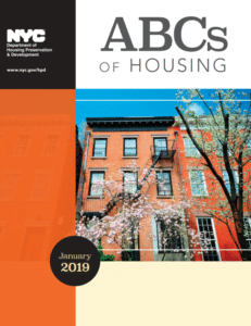 NYC 2019 HPD Housing Information Guide