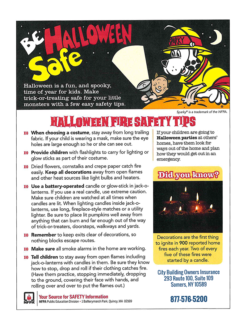Image for Halloween Safety post